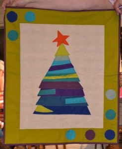 Sue Christmas wallhanging